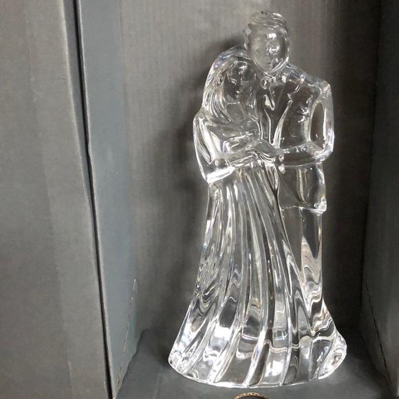 Waterford Crystal Other - Waterford Crystal Figure-Bride/Groom, Vintage
